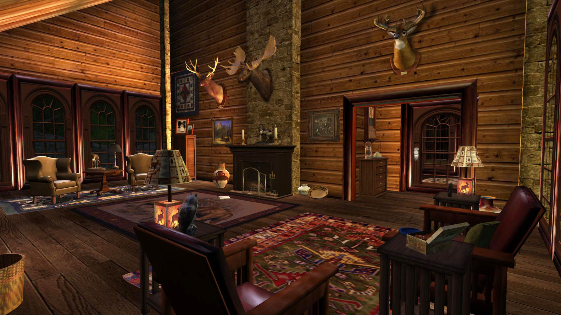 new cabin on misty mountains calas galadhon park