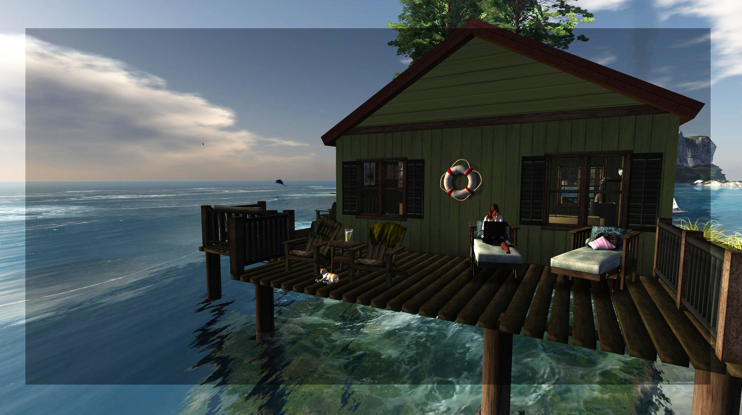 Cg bulletin how do i tell you about the cabin on the sea for Cabin by the sea