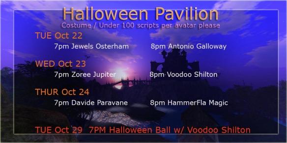 Halloween Pavilion Performances copy