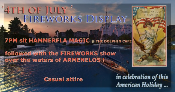 Fireworks poster 2013