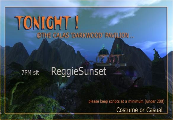 darkwood sign for Reggie