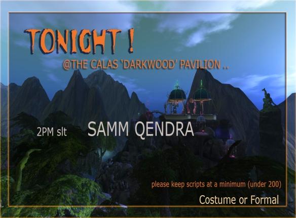 darkwood sign for SAMM