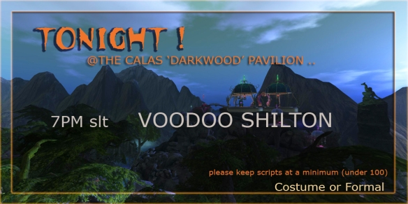 darkwood sign for voodoo