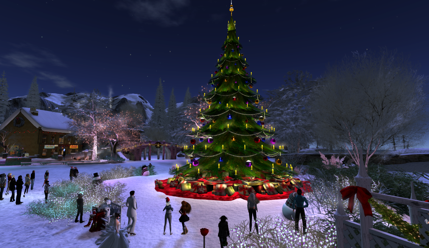 "Photos Of The Calas Galadhon Christmas Tree ""Lighting"" Are"