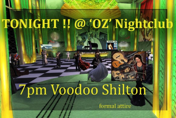 Poster VOODOO by himself at OZ copy