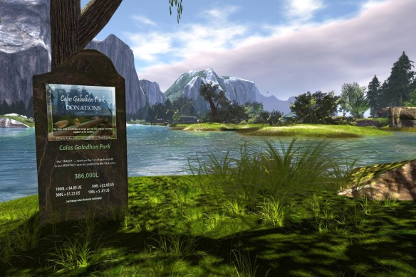 New Park Donation Kiosk