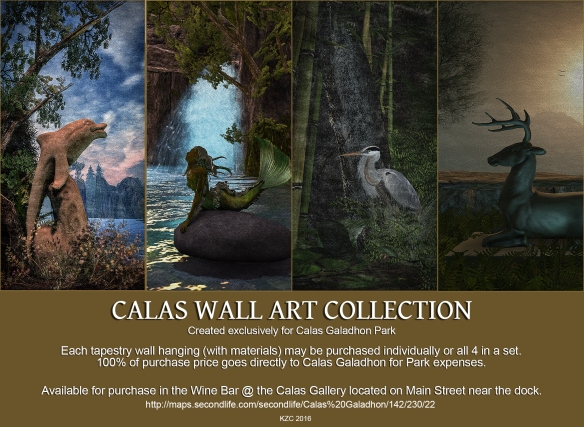 Calas Wall Art