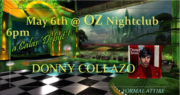 DONNY COLLAZO OZ DEBUT2