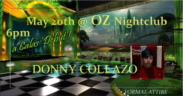 DONNY COLLAZO OZ DEBUT3