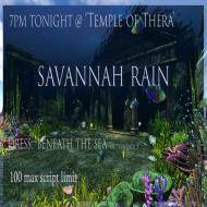 New Santorini Savannah Temple of Thera