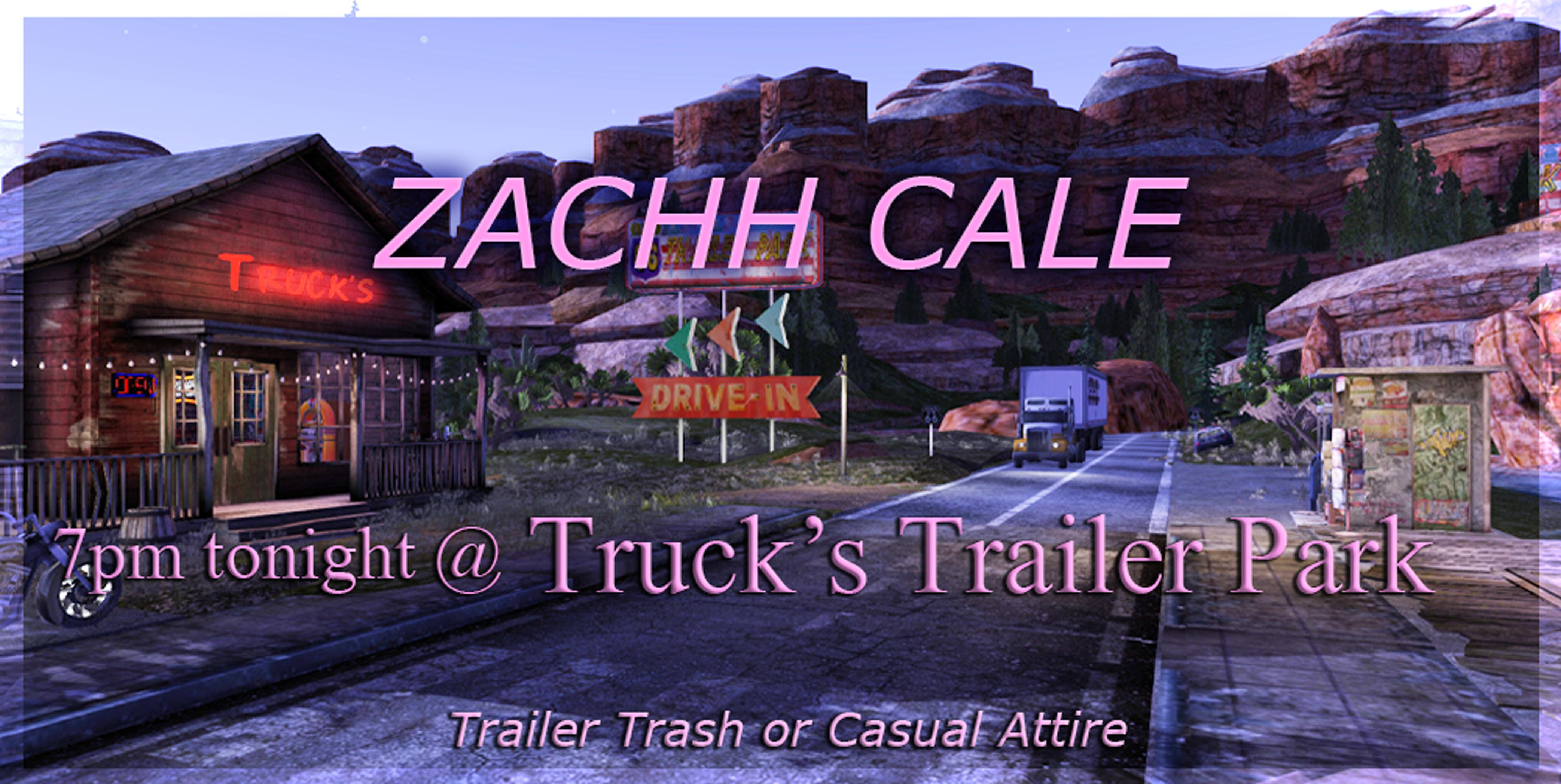 Trailer Park poster Zachh 2